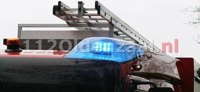 Brandweer rukt uit voor lekkende brandstoftank Vestingstraat Oldenzaal