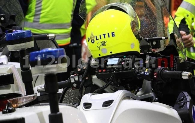 Politie houdt automobilist aan op verdenking van rijden onder invloed van drugs in Almelo