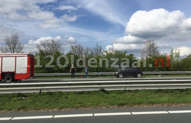 Autobrand A1 links Oldenzaal