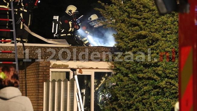 UPDATE: Woning in Denekamp loopt veel schade op bij brand