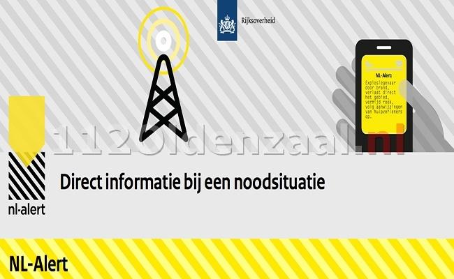 Overheid verstuurd NL-Alert; Houd 1,5 meter afstand