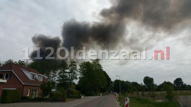(VIDEO) GRIP 1; Zeer grote brand bedrijfspand Steenbakkersweg Borne; Sluit ramen en deuren