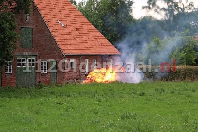 Brandweer rukt uit voor brandgerucht Hondeborgweg Oldenzaal