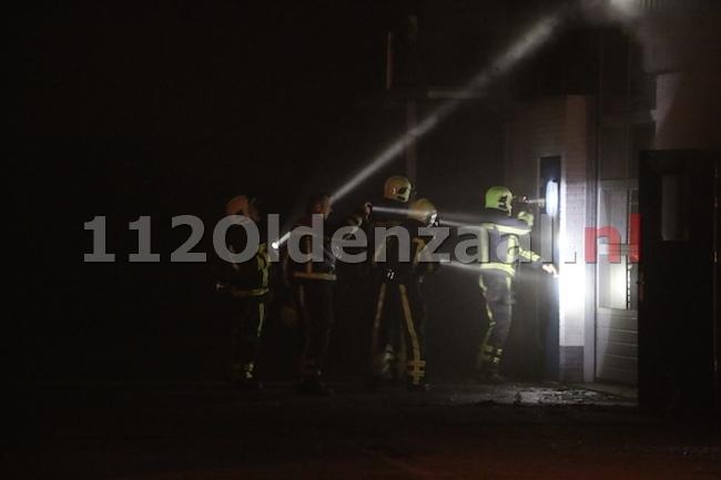Persbericht Brandweer Twente: Brand in bedrijfsverzamelgebouw Borne