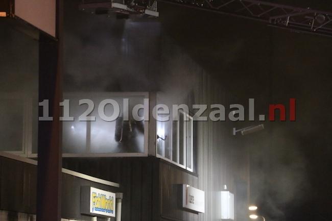 foto 5: Grote industriebrand Industriestraat Borne