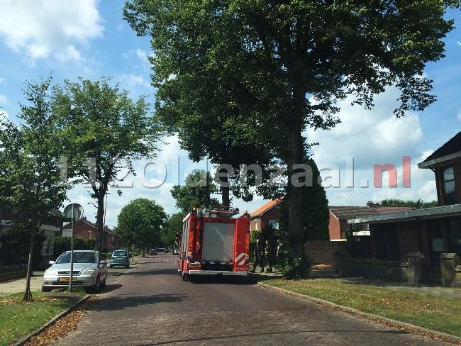 Brandweer ook vandaag druk met stormschades in Twente