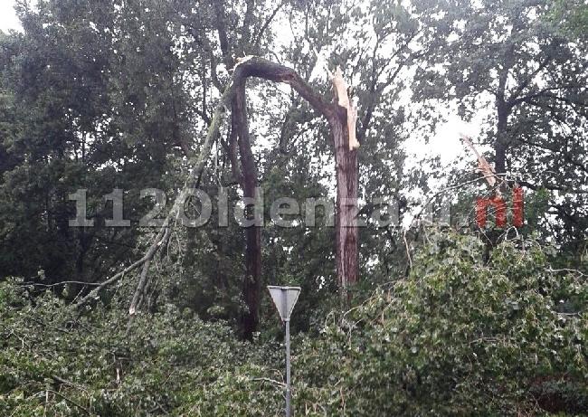 Brandweer Twente rukt ruim 180 keer uit naar meldingen van stormschade