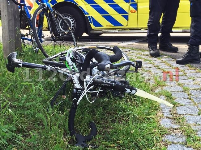 video: Wielrenner gewond bij aanrijding met auto in Enschede