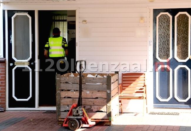 Foto 2: Hennepkwekerij aangetroffen Hunenveldlaan Oldenzaal, 5 personen aangehouden