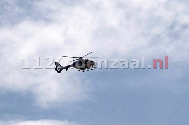 Update (2) Verdachte situatie in Enschede, politiehelikopter ingezet