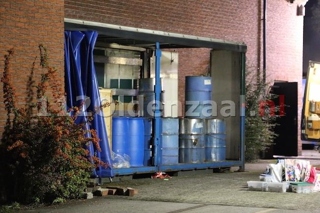Mogelijk drugslab gevonden in Oldenzaal, politie doet onderzoek