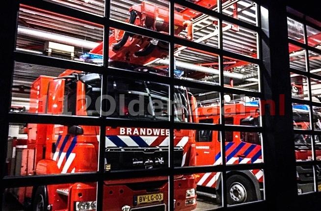 Melding industriebrand Eekboerstraat Oldenzaal