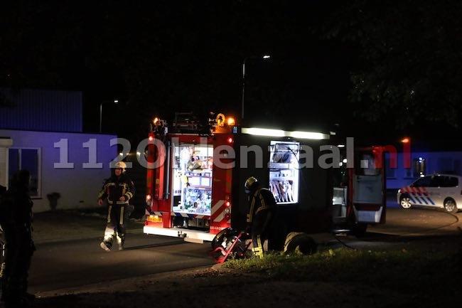 foto 3: Flinke rookontwikkeling in pand Ainsworthstraat Oldenzaal
