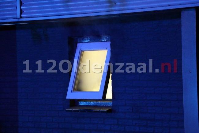 foto 4: Flinke rookontwikkeling in pand Ainsworthstraat Oldenzaal