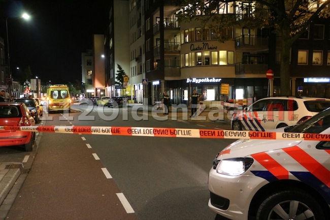 Man aangehouden door omstanders na overval op oude vrouw in centrum Enschede
