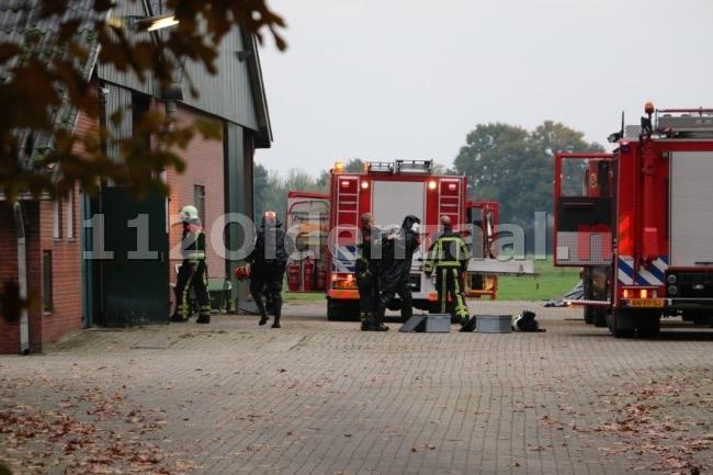 Koe komt in put terecht in Beuningen, brandweer start reddingsoperatie