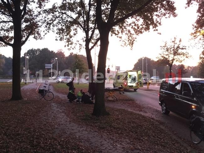 Fietser raakt gewond aan hoofd na val op fietspad Oldenzaal