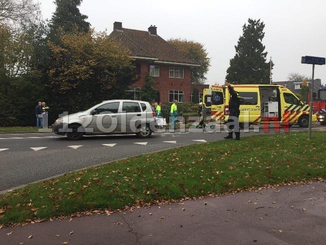 foto: Gewonde bij aanrijding Almelosestraat (N349) Ootmarsum