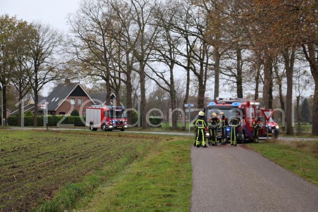 Foto 2: Brandweer rukt uit voor gaslucht Bentertsteeg Weerselo