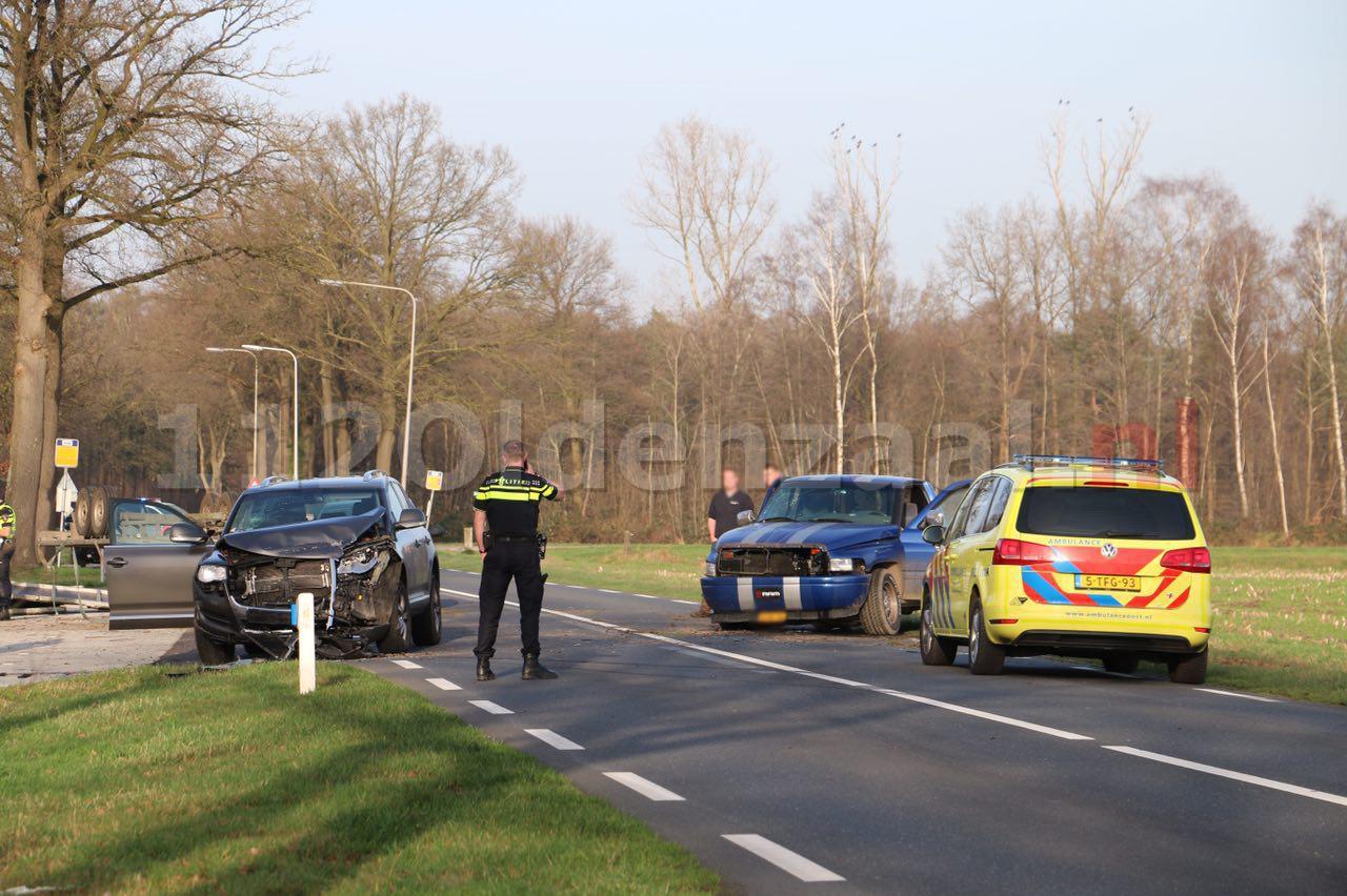 foto: Gewonden bij ongeval Rossumerstraat Agelo