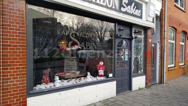 Foto: Inbraak in kapsalon Enschede