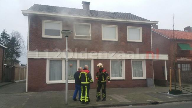 Woningbrand Kerkstraat Glanerbrug