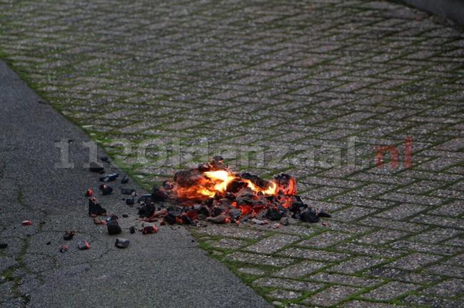 Foto 2: Woningbrand Kerkstraat Glanerbrug