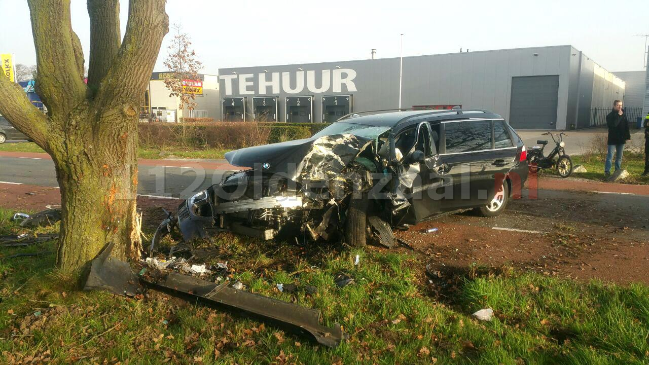 foto: Enorme ravage bij ongeval Enschede
