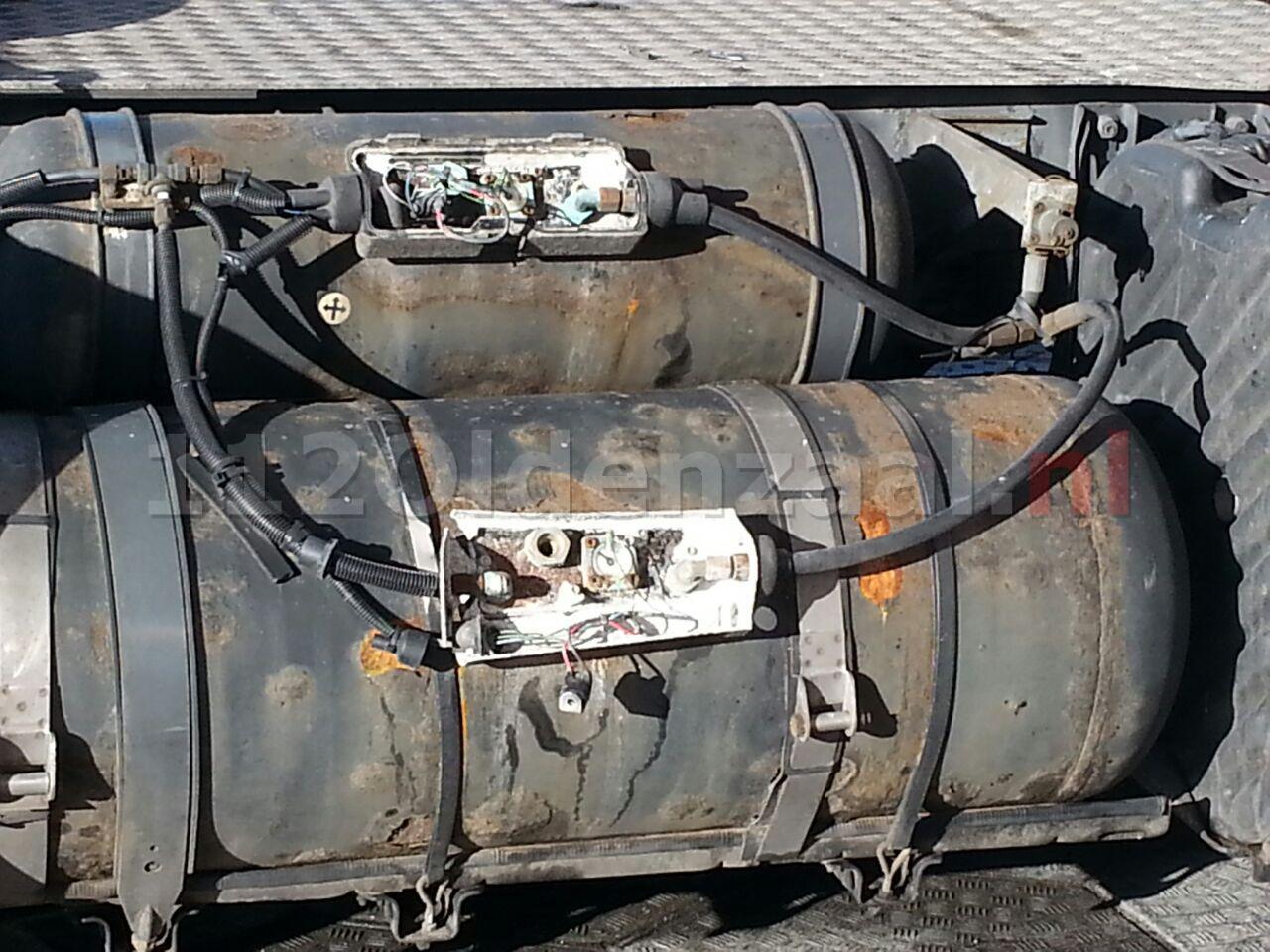 Foto 3: Vrachtwagen lekt LPG bij tankstation A1 Deurningen, brandweer opgeroepen