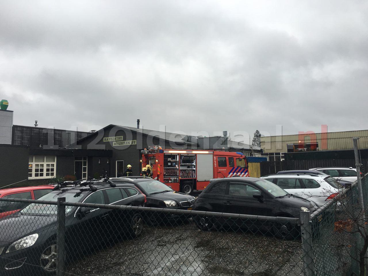 Update: Brand in spuiterij van bedrijf aan Eekboerstraat Oldenzaal