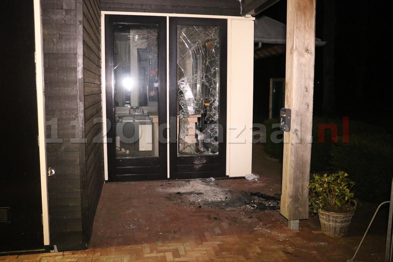 Foto 2: Brand bij Buitenhuys Het Hulsbeek Oldenzaal, mogelijk sprake van brandstichting