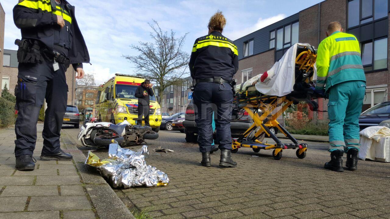 Foto: Gewonde bij aanrijding Bosmansweg Hengelo
