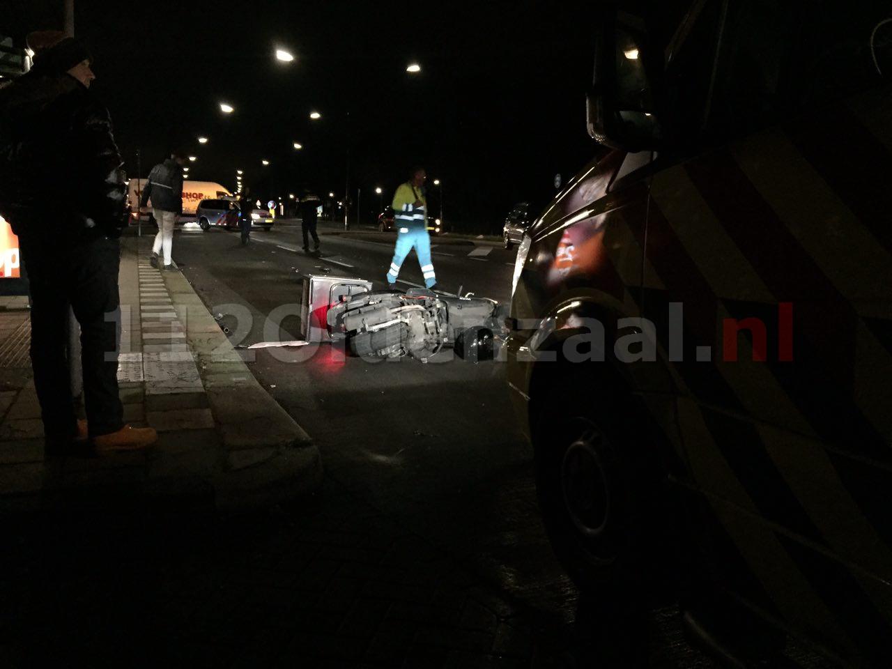 Video: Aanrijding auto met scooter Hengelosestraat Enschede