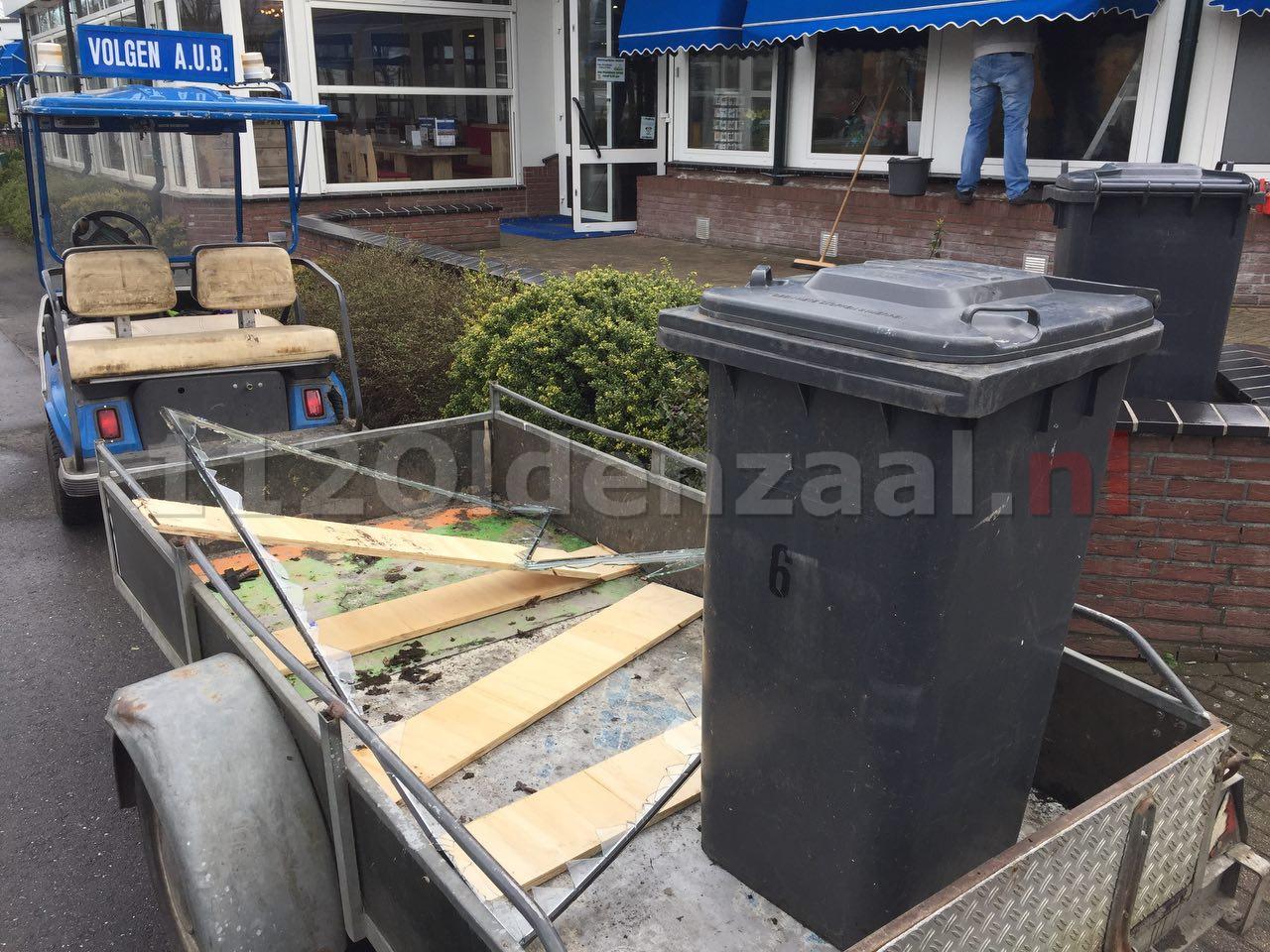 Foto 4: Inbraak bij restaurant Frans op den Bult, kluis teruggevonden