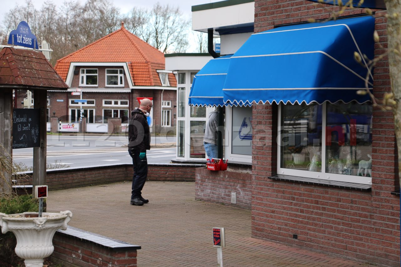 Foto 2: Inbraak bij restaurant Frans op den Bult, kluis teruggevonden