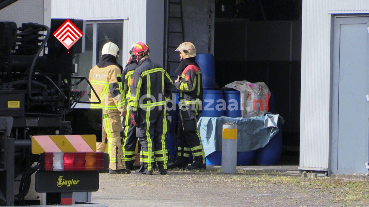foto 2: Ernstig bedrijfsongeval in Enschede, traumahelikopter opgeroepen