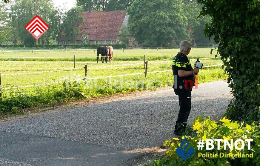 Foto 2: Bekeuringen bij verschillende verkeerscontroles in Dinkelland