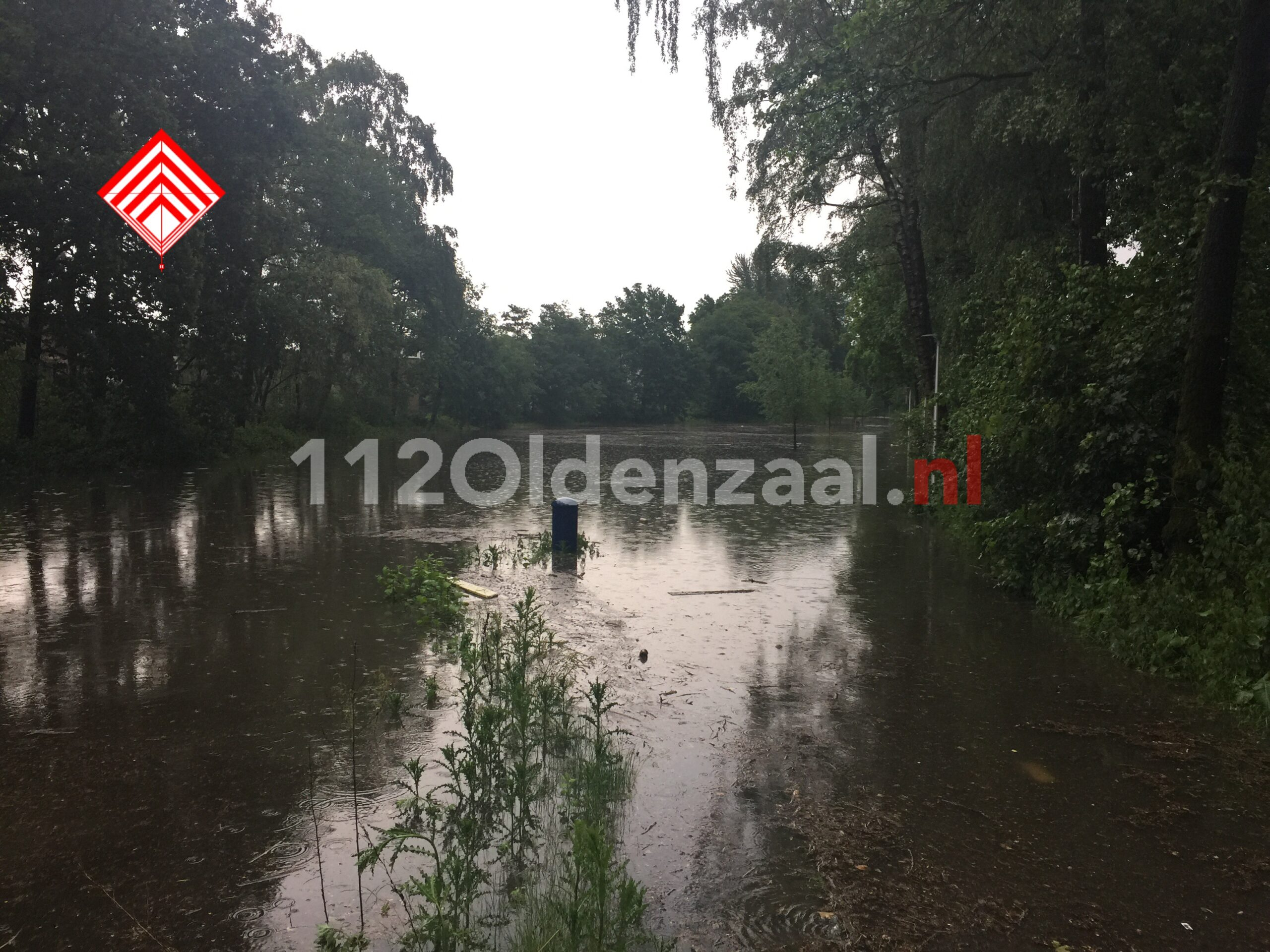 Foto 3: Hulpdiensten in Twente schalen op naar GRIP 2