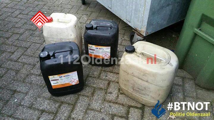 Foto: 32-jarige Poolse man aangehouden voor diefstal 200 liter diesel en bloemen in Oldenzaal