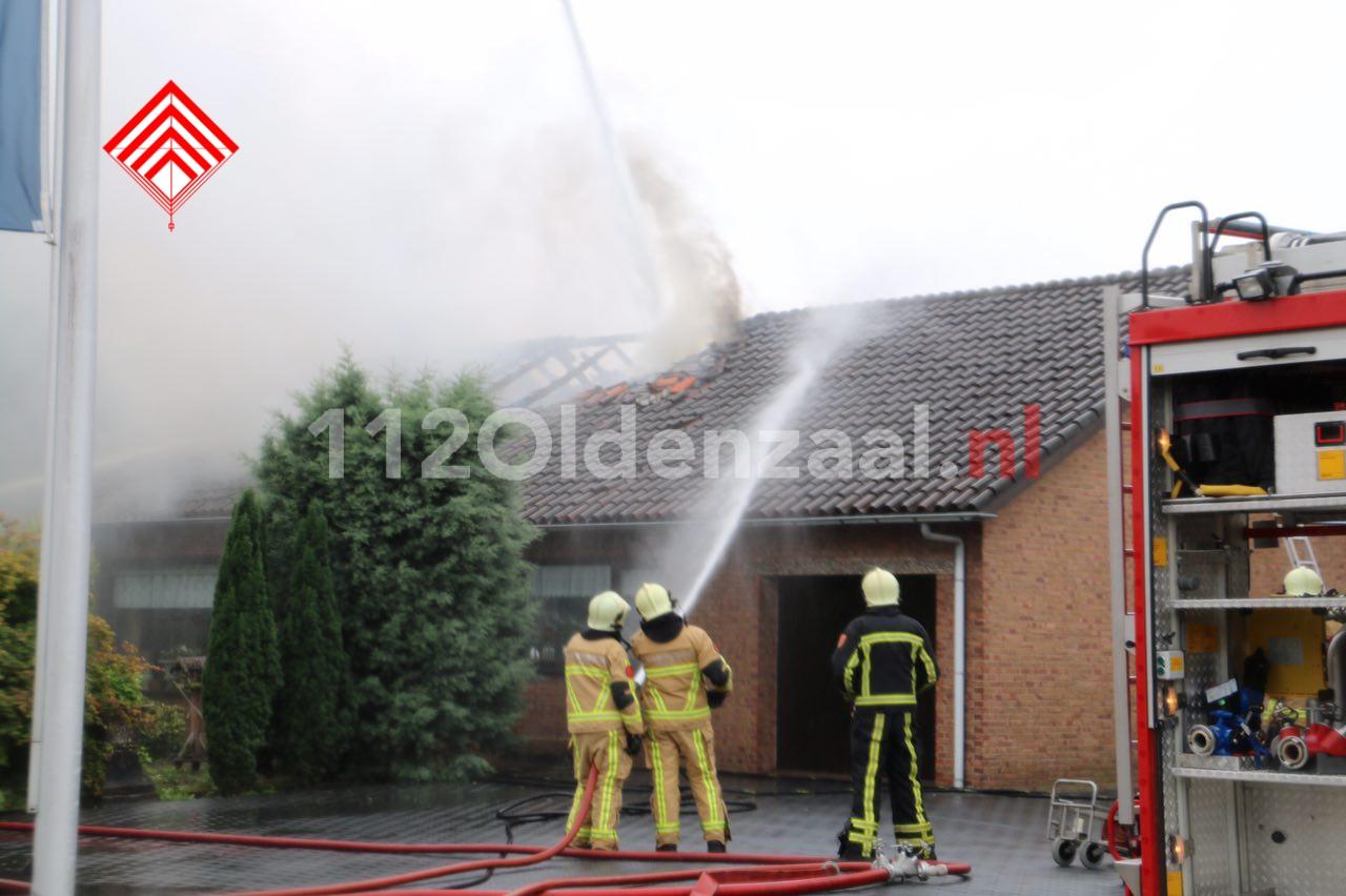 Video: Uitslaande woningbrand in Denekamp