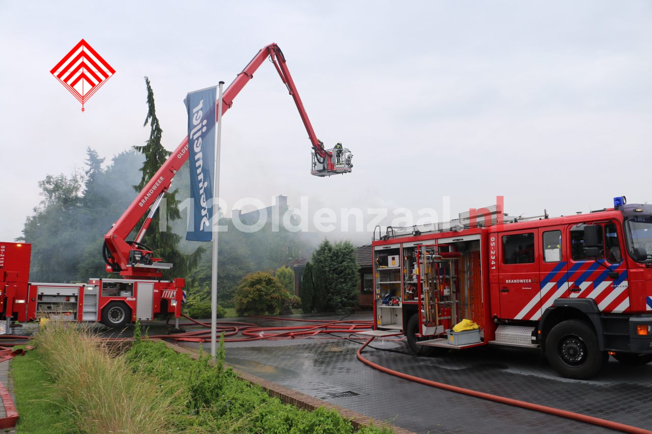 Video 2: Uitslaande woningbrand in Denekamp