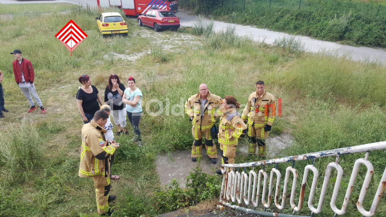 foto: Brandweer opgeroepen voor zoektocht hondje in Hengelo