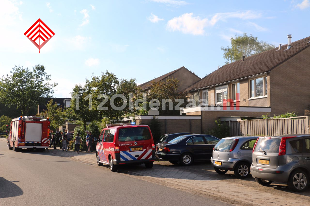 Foto 3: Woningbrand Zandhorstlaan Oldenzaal