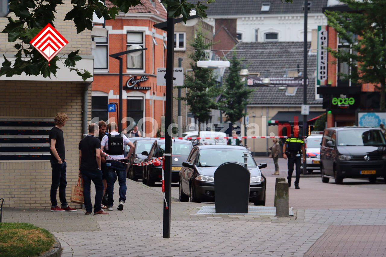 UPDATE: Mannen uit Amsterdam en Enschede aangehouden na schietpartij in centrum van Enschede