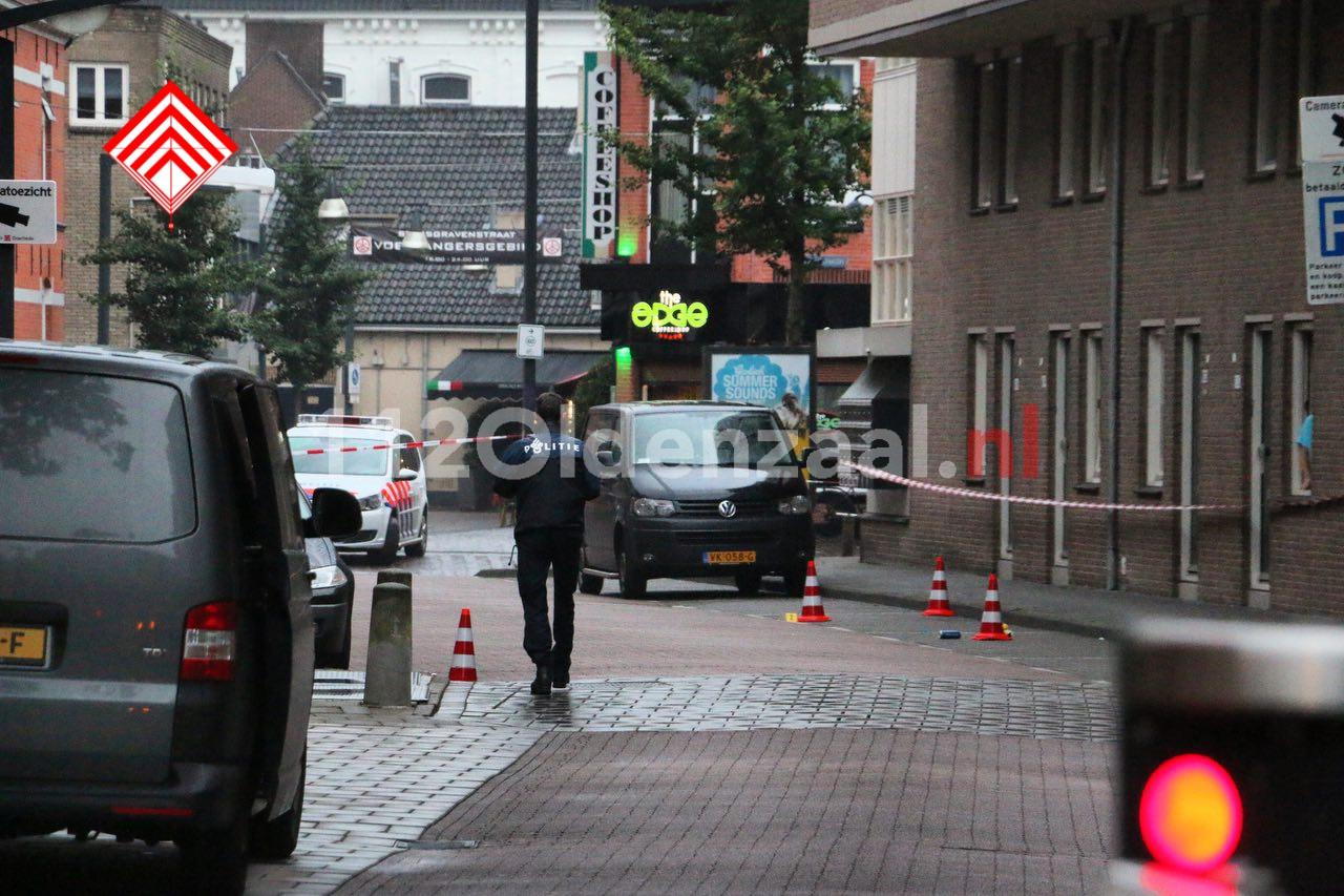 VIDEO 2: Twee personen aangehouden na schietpartij in centrum Enschede