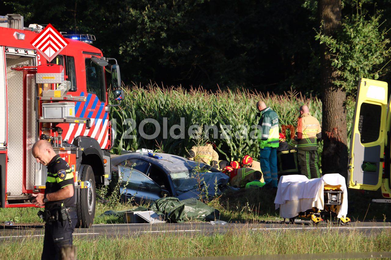 Video: Ernstig ongeval in Agelo, traumahelikopter te plaatsen