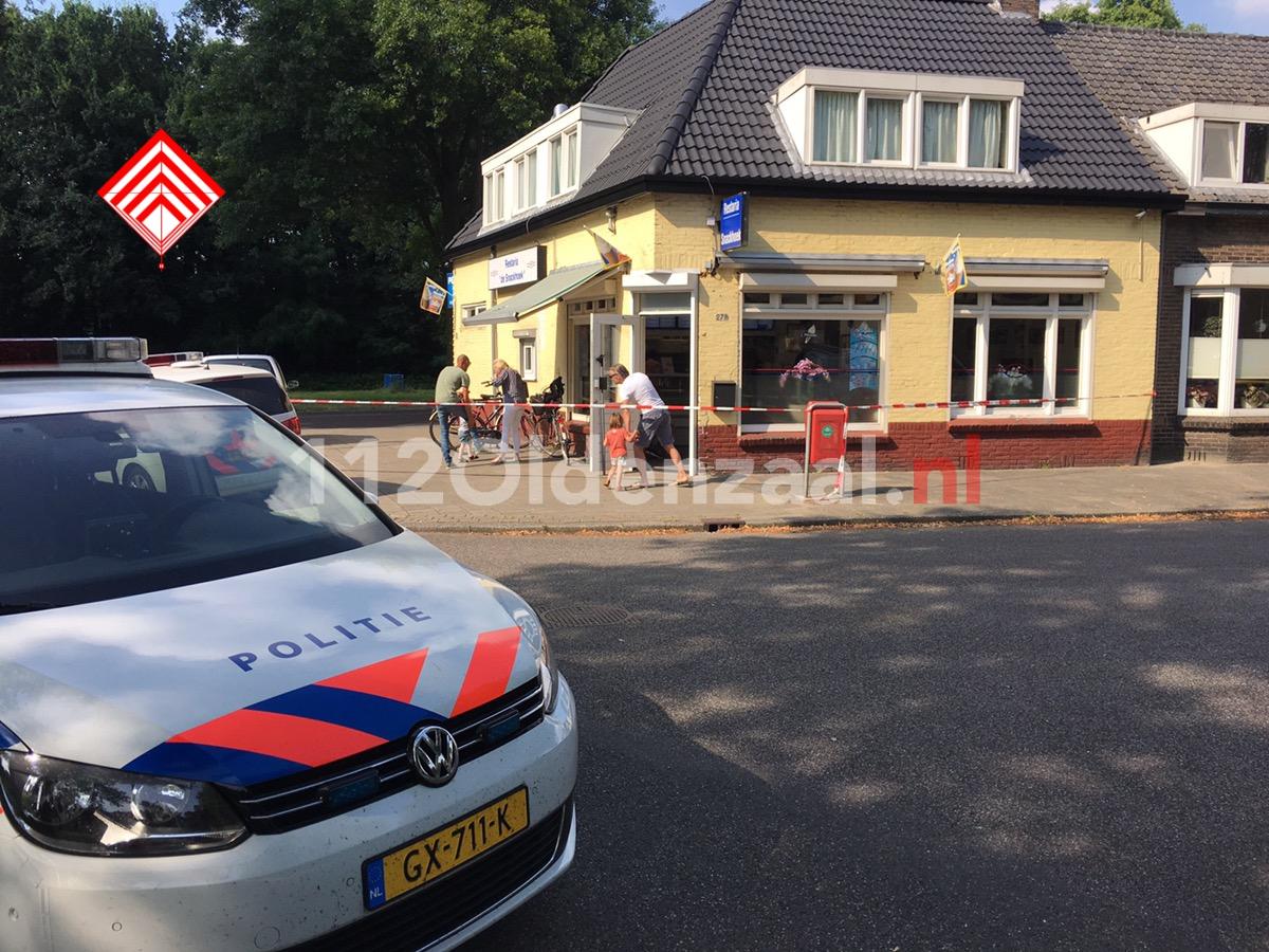 UPDATE: Overvaller nog spoorloos na gewapende overval op cafetaria in Enschede