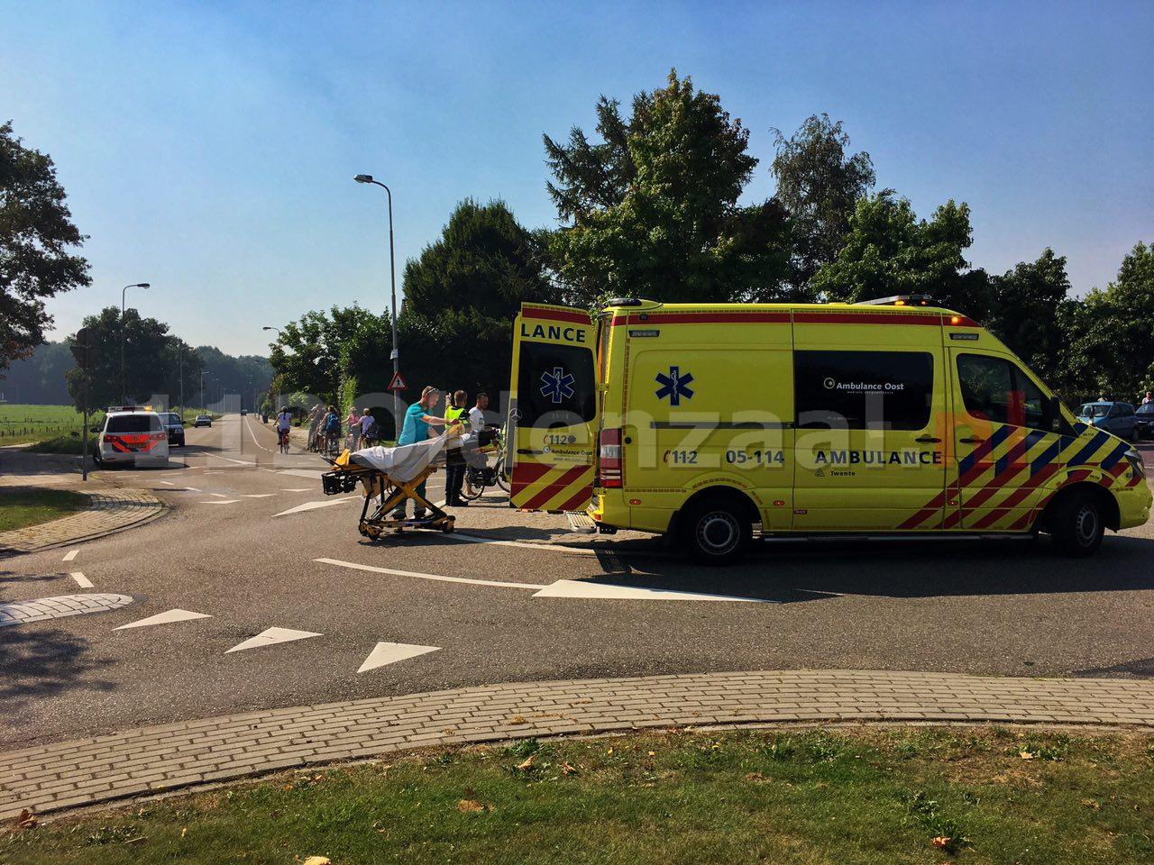 UPDATE: Fietsster in Oldenzaal gewond naar ziekenhuis