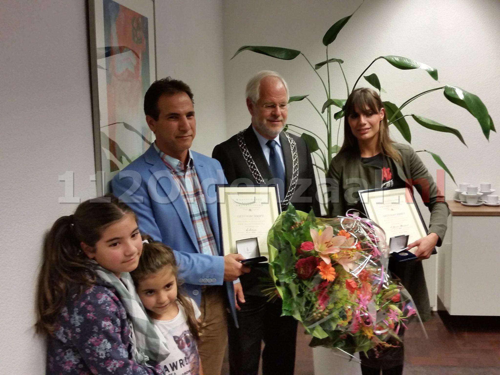 Redders tweejarige drenkeling Hulsbeek ontvangen medaille