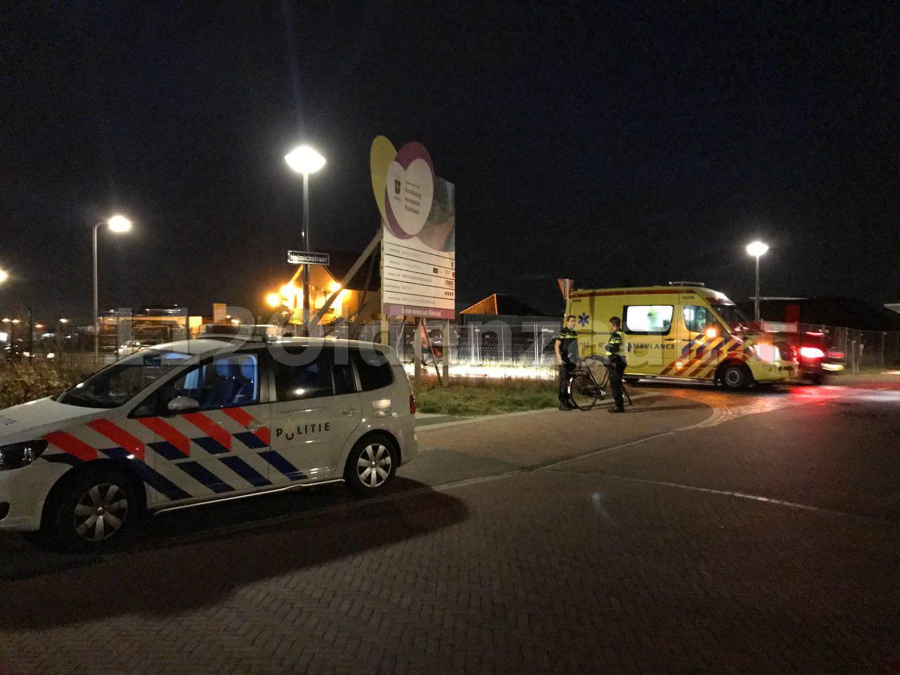Foto 2: Fietsster raakt gewond bij aanrijding in Oldenzaal